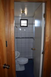 A bathroom at Hostal Buenaventura