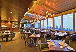 مطعم أو مكان آخر لتناول الطعام في فندق ماريغولد ثيرمال آند سبا بورصة