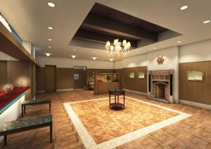 The lobby or reception area at Hotel Monte Hermana Kobe Amalie