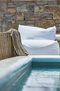Mykonos Waves Beach House & Suites during the winter