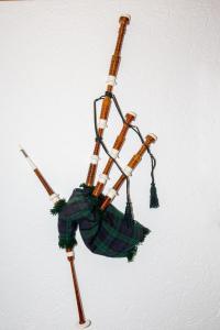 Blick auf Scottish Highlander Guesthouse aus der Vogelperspektive
