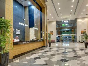 منطقة الاستقبال أو اللوبي في فندق إيلاف بكة