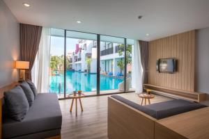 A view of the pool at Asira Boutique HuaHin or nearby