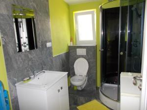 Kúpeľňa v ubytovaní Apartment Vihorlat