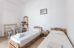 Postel nebo postele na pokoji v ubytování Anais