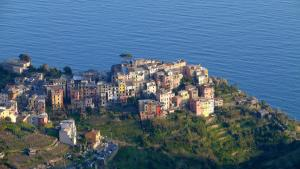 A bird's-eye view of L' Agave Cinque Terre