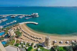 A bird's-eye view of Four Seasons Hotel Doha
