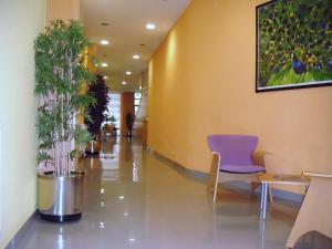 The lobby or reception area at Hotel Achuri