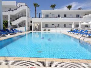 The swimming pool at or near Michalis Studios & Apartments