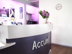 The lobby or reception area at Hotel Inn Design Resto Novo La Rochelle