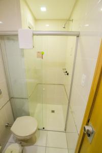 A bathroom at San Juan Royal