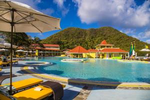 The swimming pool at or close to Starfish St Lucia - All Inclusive