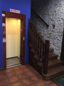 The lobby or reception area at La Posada del Rey