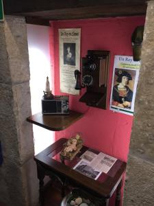 The lounge or bar area at La Posada del Rey