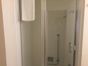Ett badrum på Hotel Beresford