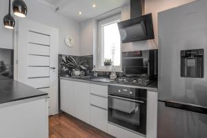 Kuchnia lub aneks kuchenny w obiekcie Baltic Villa