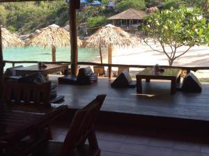 Een restaurant of ander eetgelegenheid bij Aow Leuk Grand Hill
