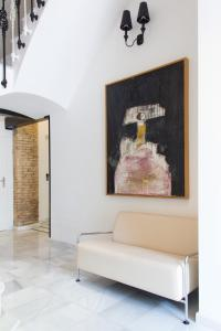 The lobby or reception area at Soho Valencia