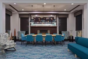 The lounge or bar area at Hilton Garden Inn Annapolis
