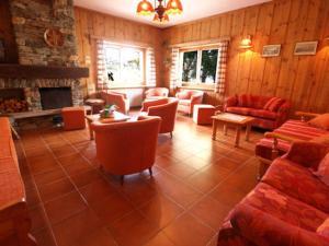 Гостиная зона в Hotel Alpe Fleurie