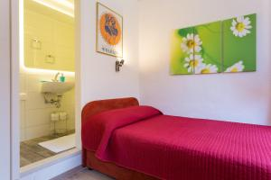 A bed or beds in a room at Apartments Rudjer