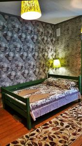 Кровать или кровати в номере Prival