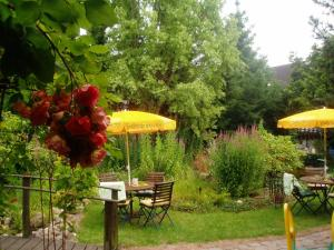 En have udenfor Das Romantische Landhaus