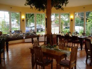 En restaurant eller et andet spisested på Das Romantische Landhaus