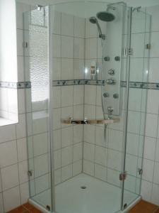 Et badeværelse på Das Romantische Landhaus