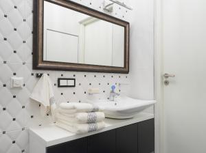 Vonios kambarys apgyvendinimo įstaigoje Central Apartment