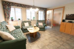 Lounge oder Bar in der Unterkunft Ferienhof Zinn