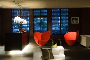 The lounge or bar area at Martin's Brussels EU