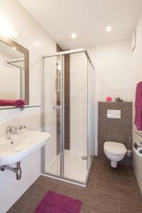 Ein Badezimmer in der Unterkunft Am Sunnaberg