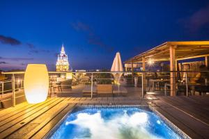 The swimming pool at or near Movich Hotel Cartagena de Indias