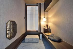 A seating area at Takeya Kitano Bekkan