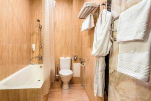 A bathroom at M-Hotel