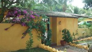 Um jardim em Pousada Vila Santapipa