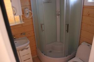 Ванная комната в Отель Каро