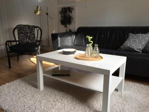 A seating area at The Arctic Apartment