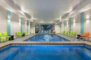 The swimming pool at or near Home2 Suites by Hilton Amarillo