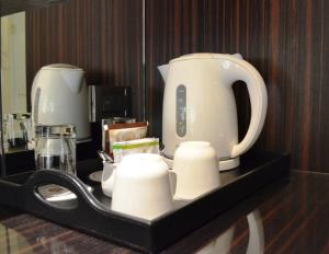 Coffee and tea-making facilities at The Grand Hotel