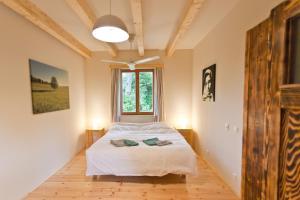 Een bed of bedden in een kamer bij Irota EcoLodge