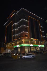 O edifício em que o apart-hotel se localiza