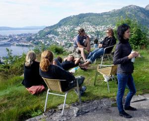 Clientes alojados en Bergen Hostel Montana
