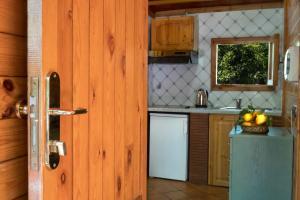 A kitchen or kitchenette at Residence Villaggio Verde