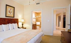 A room at Emerald Greens Condo Resort