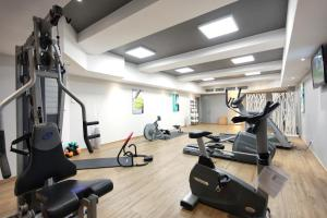 The fitness centre and/or fitness facilities at Leonardo Boutique Hotel Düsseldorf