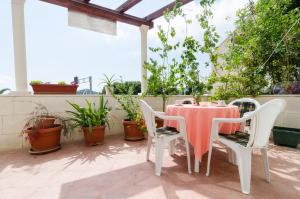 A patio or other outdoor area at Apartments Mamma Mia