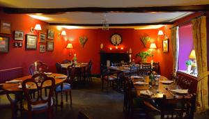 A restaurant or other place to eat at The Castle Arms Inn