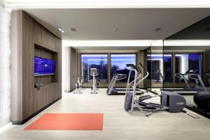 The fitness centre and/or fitness facilities at Eurostars Washington Irving